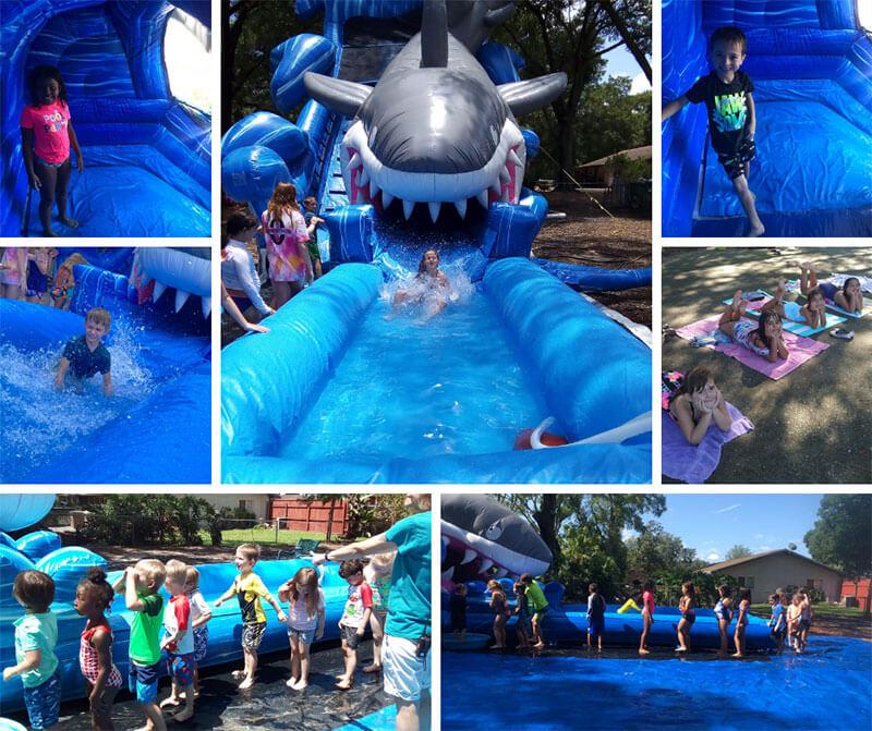 1st water slide summer 2020